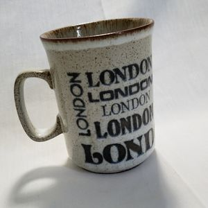 Vintage London Mug Scotland Dunoon Ceramics